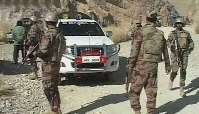 سکیورٹی فورسز کے قافلے پر دہشتگردوں کا حملہ