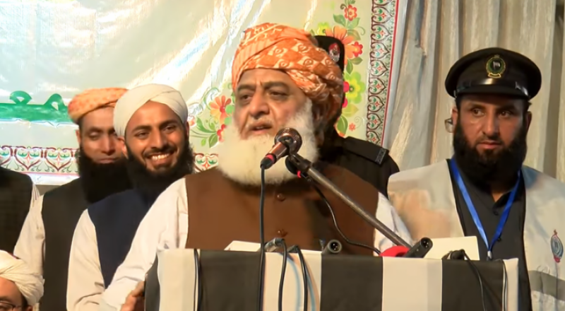 ہم تمہارا وہ حال کریں گے جو امریکی فوج کا افغانستان میں ہوا: مولانا فضل الرحمٰن