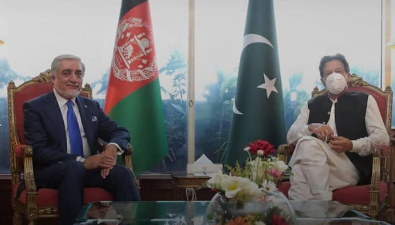 افغان امن عمل ،ماضی سے سبق سیکھ کر مستقبل کیلئے آگے کی سوچ اپنانا ہوگی :وزیر اعظم