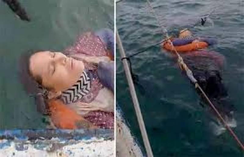دو سال پہلے لاپتہ ہونیوالی خاتون سمندر سے زندہ مل گئی