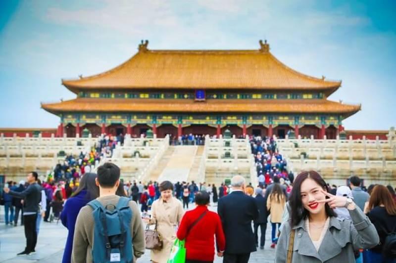 چین میں 8روزہ تعطیلات کے دوران60کروڑ مقامی دورے ہوں گے، رپورٹ