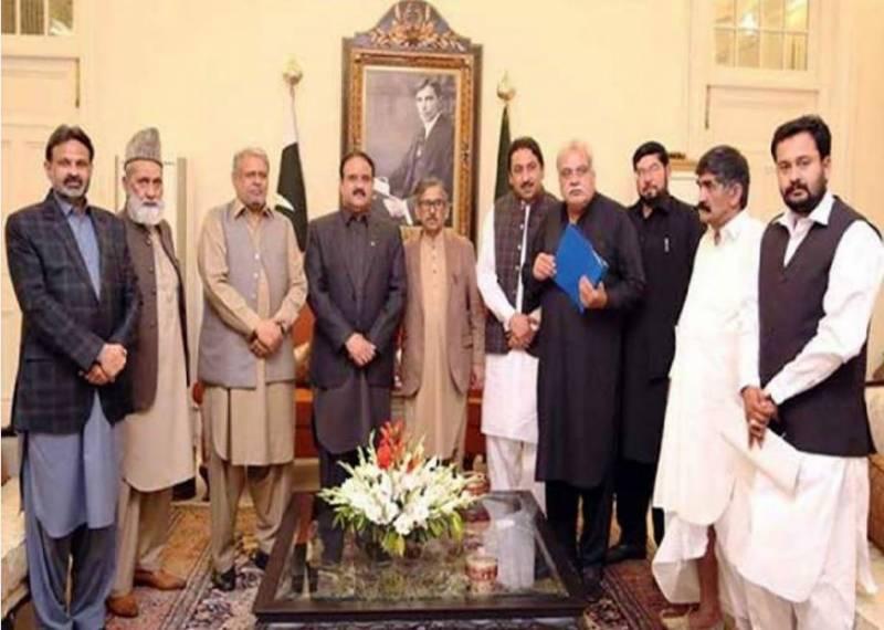 وزیراعلیٰ پنجاب سے ملاقات کیوں کی؟ن لیگ کا 5ارکان اسمبلی کو پارٹی سے نکالنے کا اعلان