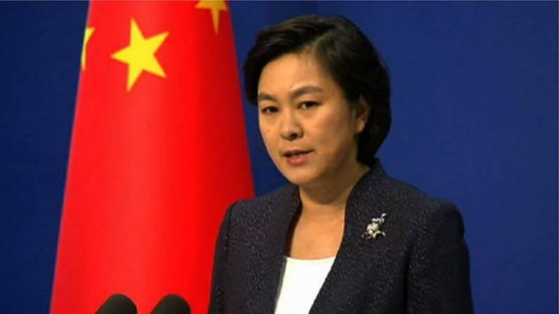 ہانگ کانگ کے معاملے پر پاکستان کی حمایت کا شکریہ ادا کرتے ہیں، چین