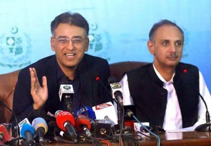 عمر ایوب خان سے وزارت توانائی کا قلمدان واپس لیکر اسد عمر کو دیئے جانے کا امکان