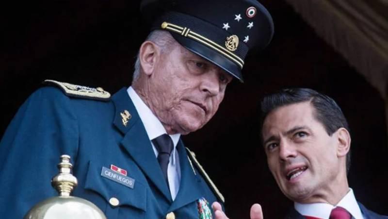 'میکسیکوکے سابق وزیر دفاع کو لاس اینجلس میں گرفتار کر لیا گیا'