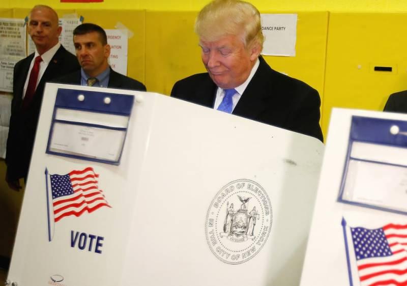 Donald Trump file photo