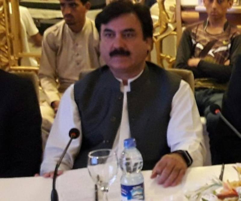 Shaukat Yousafzai file photo