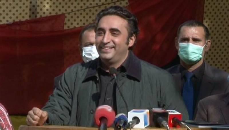 Bilawal Bhutto adresses in Skardu