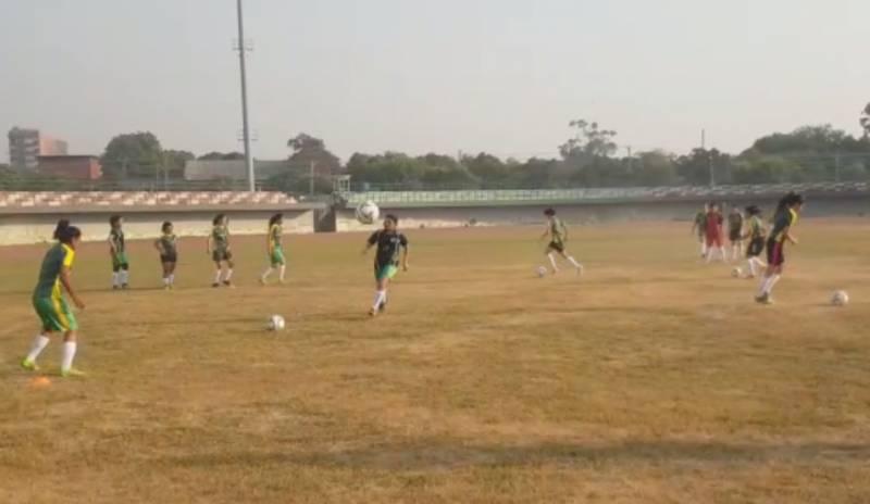 Pakistan women Football Team, Lahore,