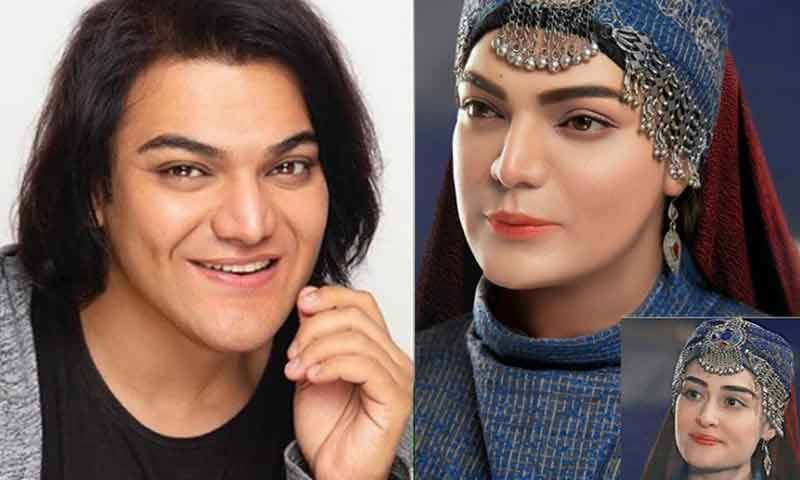 Shoaib Khan's Dhoom in the guise of Halima Sultan