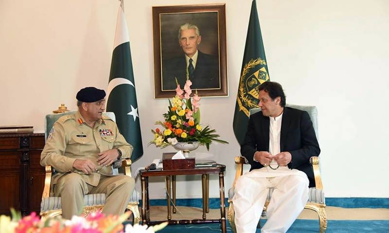 Army Chief General Qamar Javed Bajwa called on Prime Minister Imran Khan