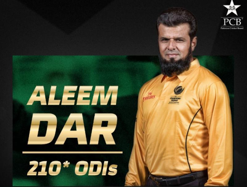 aleem dar,won award,umpire,pakistan,cricket,one day matches