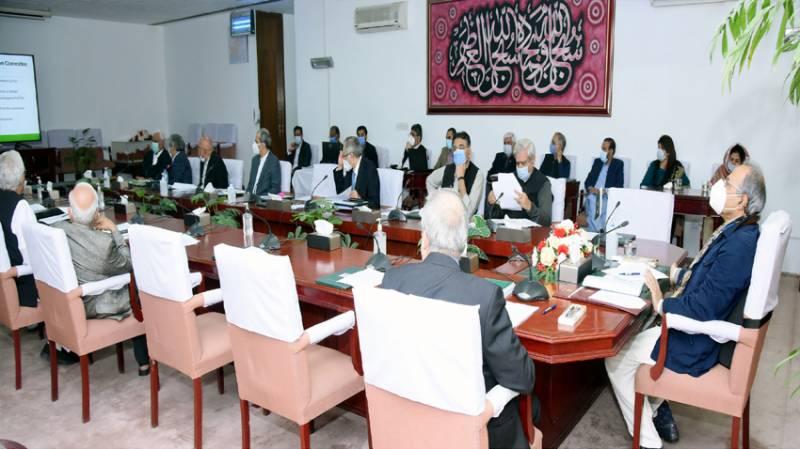 Economic Coordination Committee, Abdul Hafeez Shiekh,