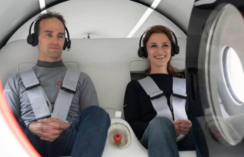 History ، passengers، ride، hyperloop