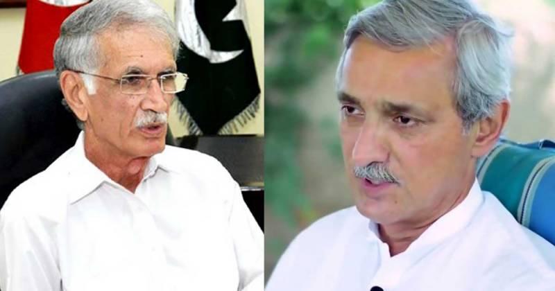 Pakistan,Pervez Khattak,jahangir tareen,PTI