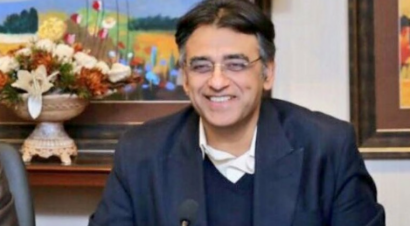 Asad Umar accused PML-N and PPP of duplicity
