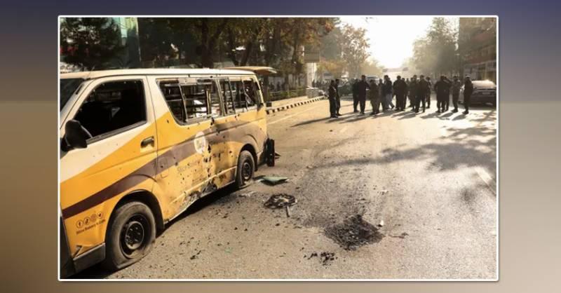 Kabul explosions: three die in rocket attacks on Afghan capital