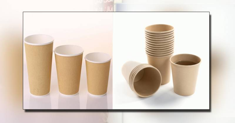 Disposable cups have negative effects of drinking tea or coffee