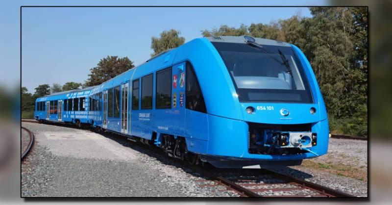 Germany will now run hydrogen trains