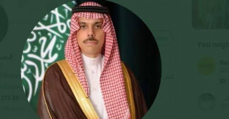 فلسطین کے سے معتلق سعودی عرب کا موقف غیر متزلزل ہے، سعودی وزیر خارجہ