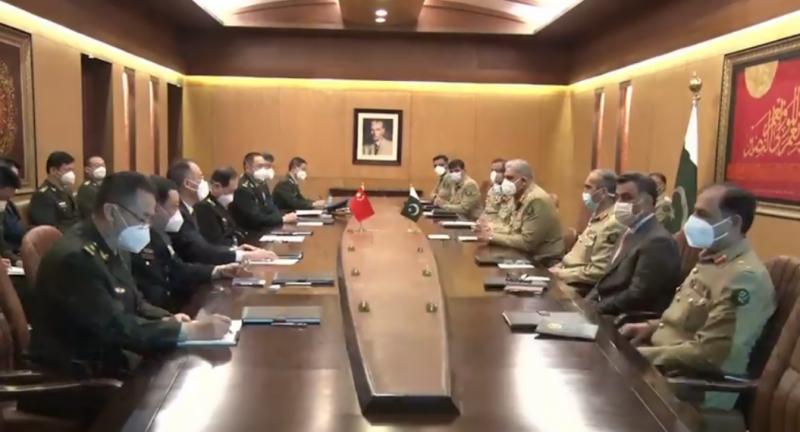 پاک فوج چین کے ساتھ تعلقات کو خصوصی اہمیت دیتی ہے، آرمی چیف
