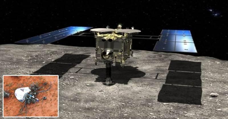 جاپانی خلائی جہاز سیارچے کی مٹی کے نمونے لے آیا