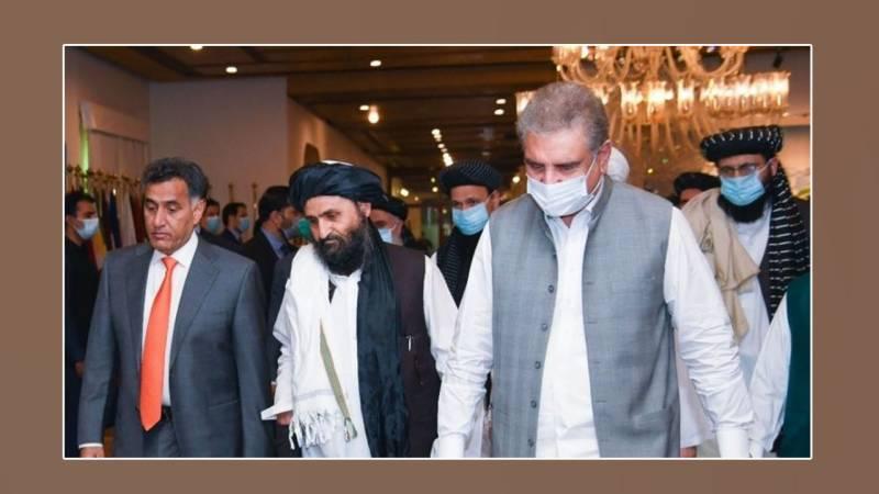 A political delegation of Afghan Taliban led by Mullah Baradar arrived in Islamabad