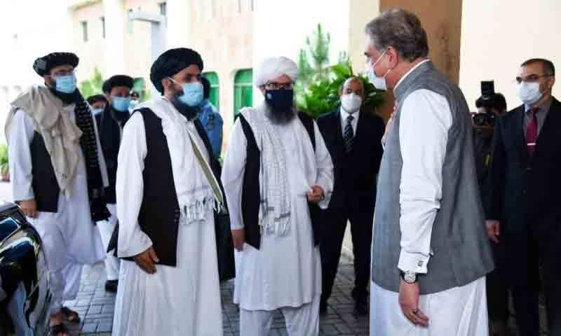 شاہ محمود قریشی کی افغان طالبان کے وفد سے ملاقات، اہم امور پر تبادلہ خیال