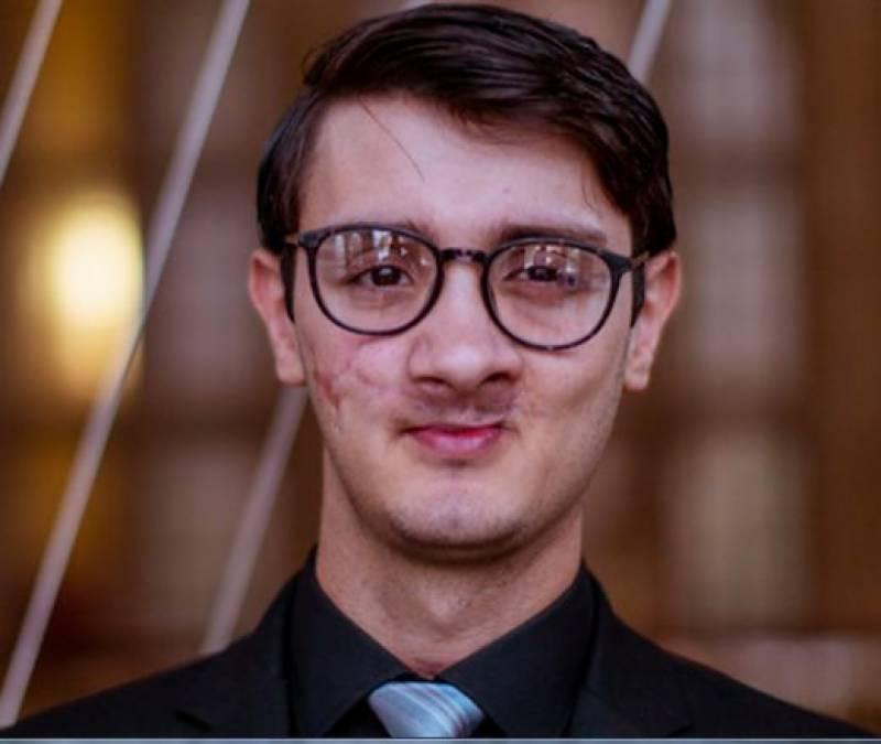 سانحہ اے پی ایس کے غازی ولیدخان برطانوی یوتھ پارلیمنٹ کے رکن منتخب
