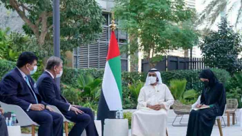 وزیر خارجہ کی متحدہ عرب امارات کی قیادت سے ملاقات، اہم امور پر تبادلہ خیال
