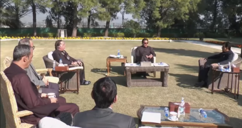 وزیراعظم سے ایم کیو ایم پاکستان کے وفد کی ملاقات، سینیٹ انتخابات میں تعاون کی یقین دہانی