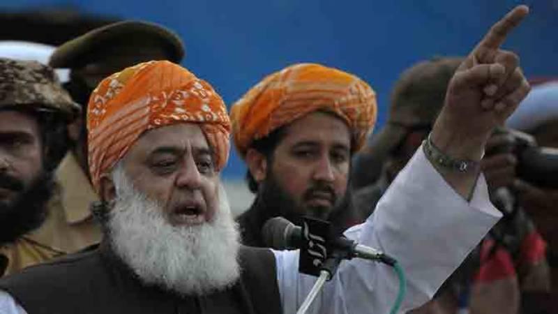 حکومت گھبراہٹ کا شکار ہے اس لئے جلد الیکشن کرنا چاہتی ہے, مولانا فضل الرحمن