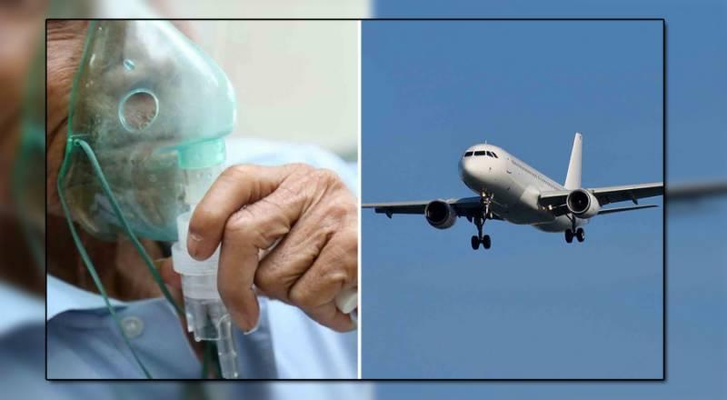کورونا وائرس کا مریض مسافر دوران پرواز انتقال کرگیا