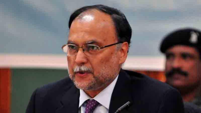 احسن اقبال کا وزیراعظم کے معاون خصوصی شہزاد اکبر کو کرپشن ثابت کرنیکا چیلنج