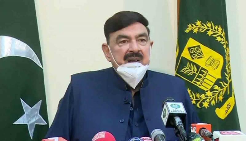 مولانا فضل الرحمان کے نصیب میں اسلام آباد نہیں وہ اسلام کی فکر کریں، شیخ رشید