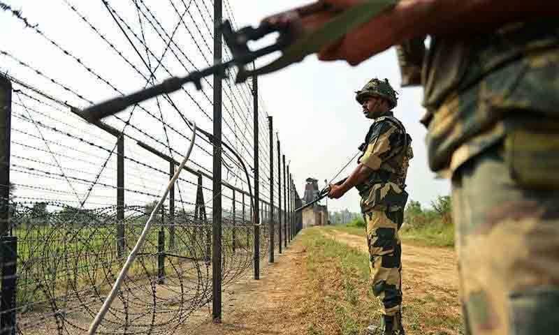 ایل او سی پر بھارتی فوج کی فائرنگ، سپاہی شہید