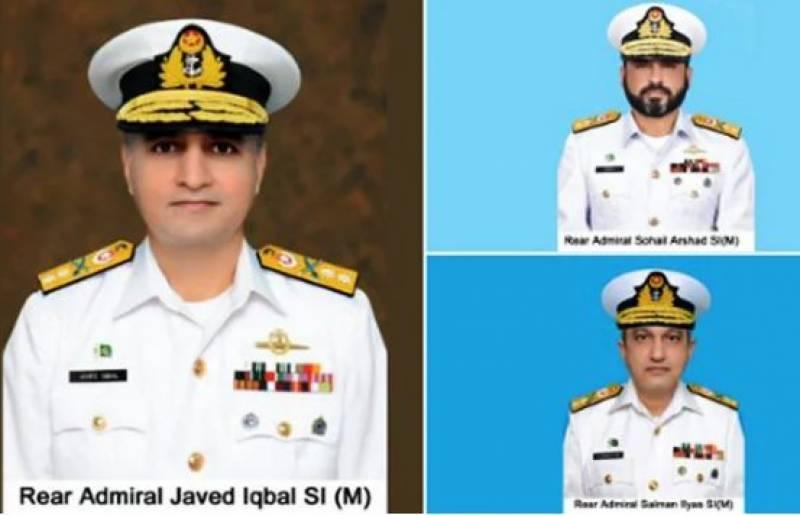 کراچی ،پاک بحریہ میں تین افسران کی پروموشن