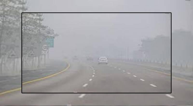 لاہور سمیت پنجاب بھر میں کئی روز سے دھند کا راج برقرار