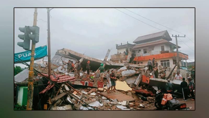 انڈونیشیا میں دو روز قبل آنے والے زلزلے میں اموات کی تعداد 73 ہوگئی