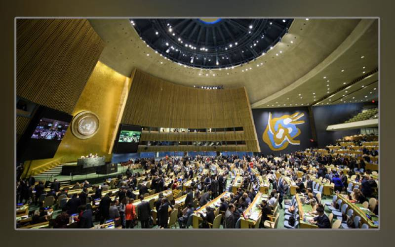 UN, General Assembly, resolution, religious places, Pakistan