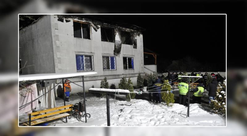 یوکرین کے ایک نرسنگ ہاؤس میں آتشزدگی کے نتیجے میں 15 افرادہلاک اور 11 زخمی ہوگئے