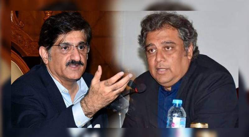 وزیراعلیٰ سندھ نے علی زیدی کیخلاف شکایتی خط وزیراعظم کو لکھ دیا