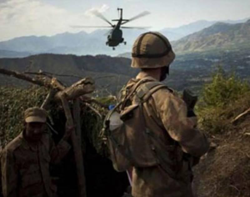 پاک فورسز کا آپریشن ، دواہم کمانڈروں سمیت 5 دہشتگرد ہلاک،آئی ایس پی آر