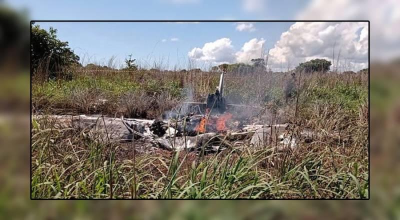 برازیل میں چھوٹے طیارے کے حادثے میں کلب کے صدر اور چار کھلاڑی ہلاک ہوگئے ۔