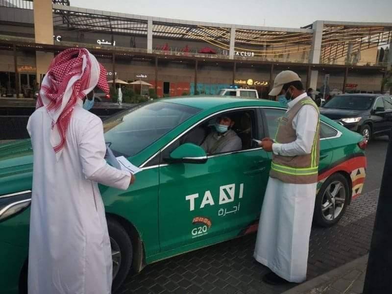 سعودی عرب میں غیر ملکی ٹیکسی ڈرائیوروں کے خلاف کریک ڈاؤن