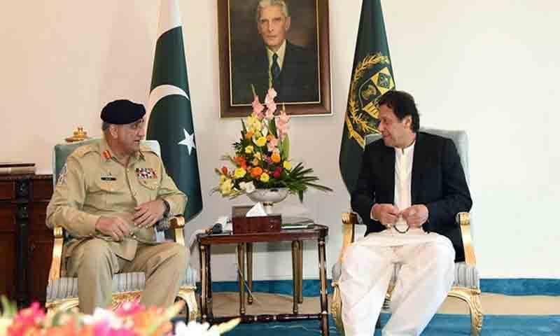 وزیراعظم سے آرمی چیف کی ملاقات، سیکیورٹی امور پر بات چیت