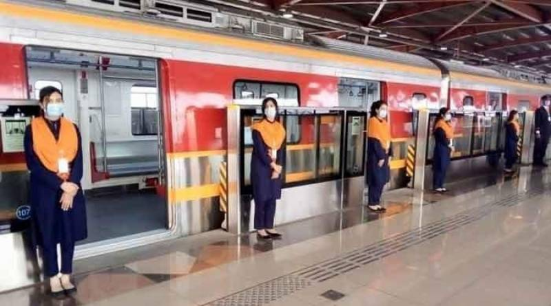Orange Train Rent Rs only 30