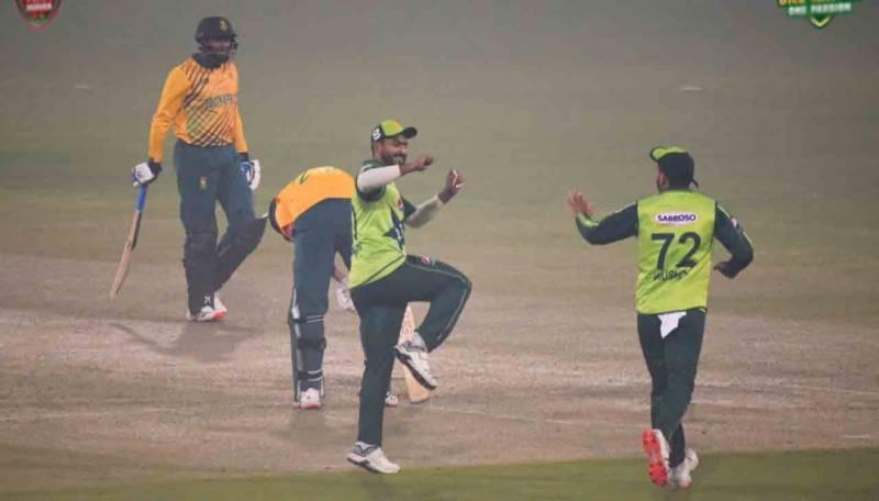 پاکستان نے پہلے ٹی ٹوئنٹی میچ میں جنوبی افریقہ کو شکست دیدی