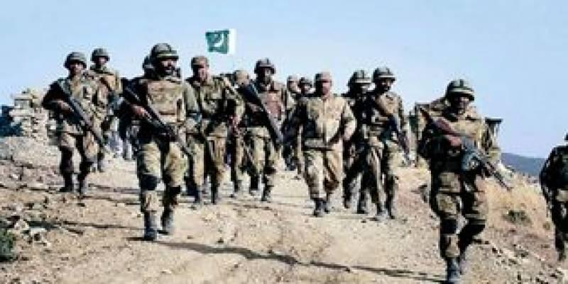 جنوبی وزیرستان کے علاقے مکین میں فورسز پر دہشت گردوں کی فائرنگ،آئی ایس پی آر