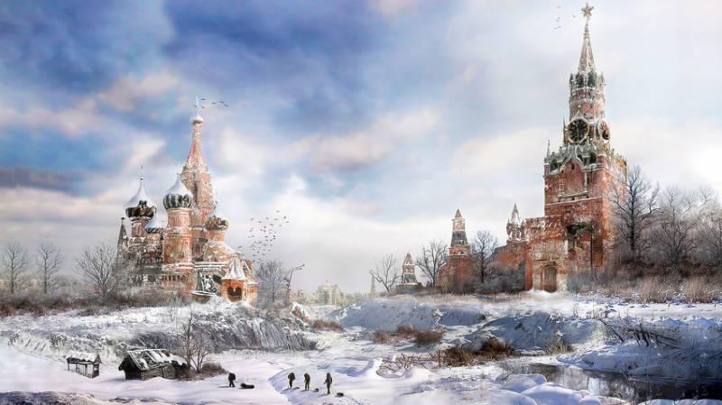 امریکہ اور روس نے برف کی چادر اوڑھ لی